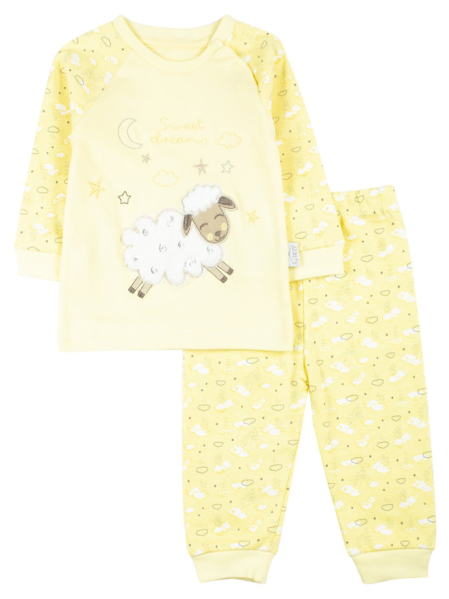 Комплект детский: штанишки и кофточка, цвет: желтый