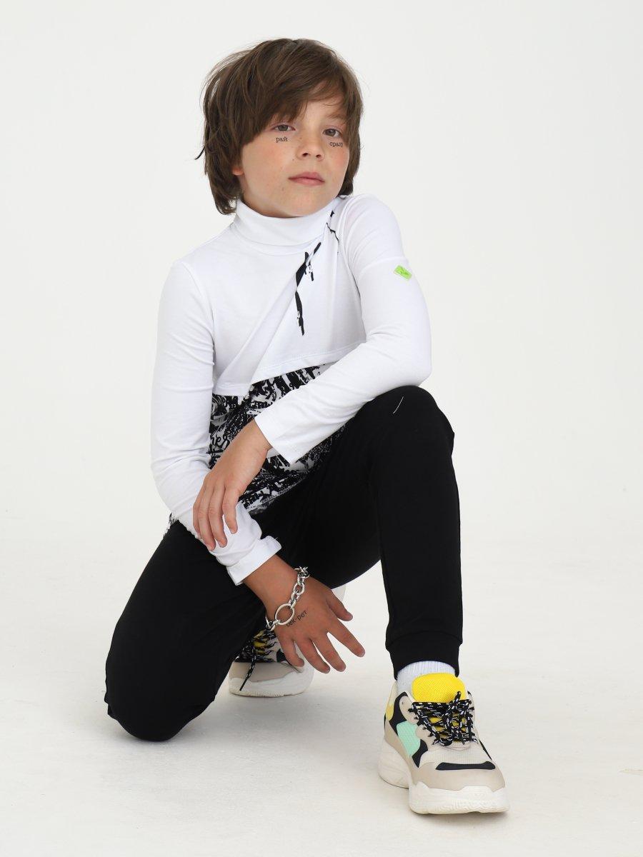 Водолазка для мальчика, цвет: белый