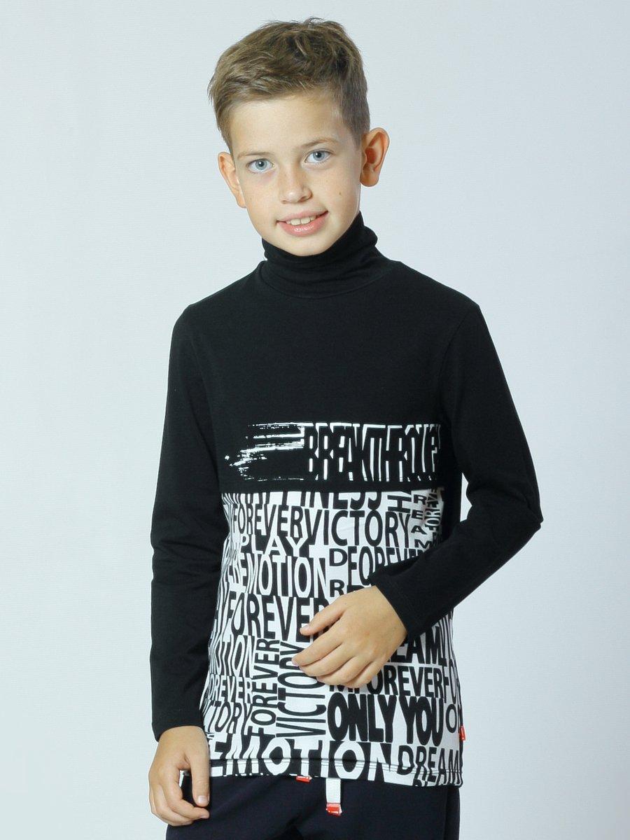 Водолазка для мальчика, цвет: черный