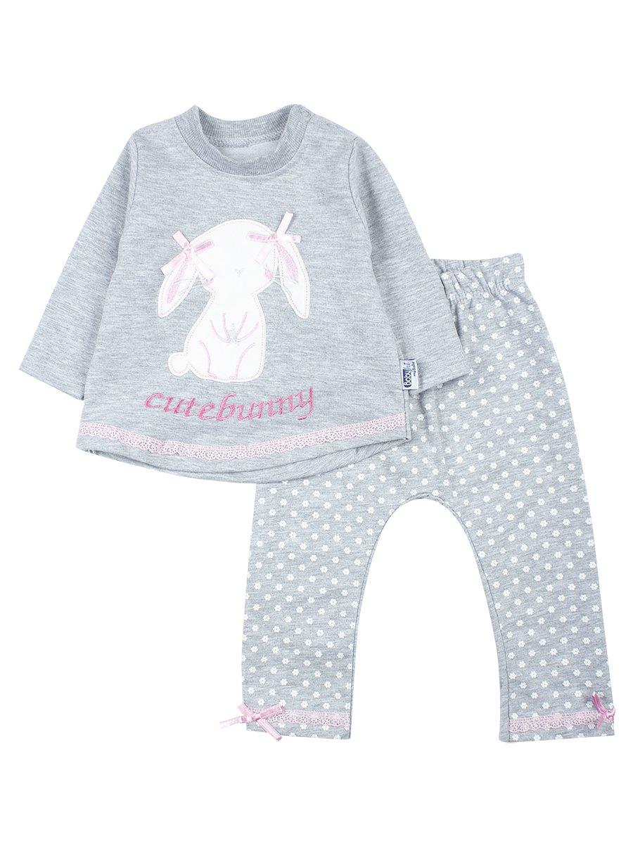Комплект для девочки: кофточка и штанишки