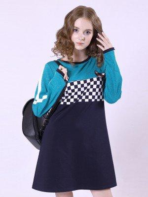 Платье из футера 2-х нитки