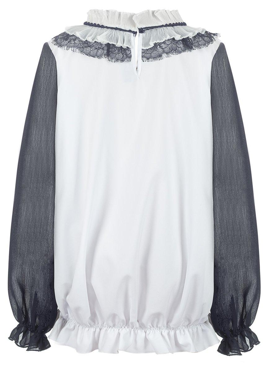 Блузка свободного силуэта, цвет: бежевый