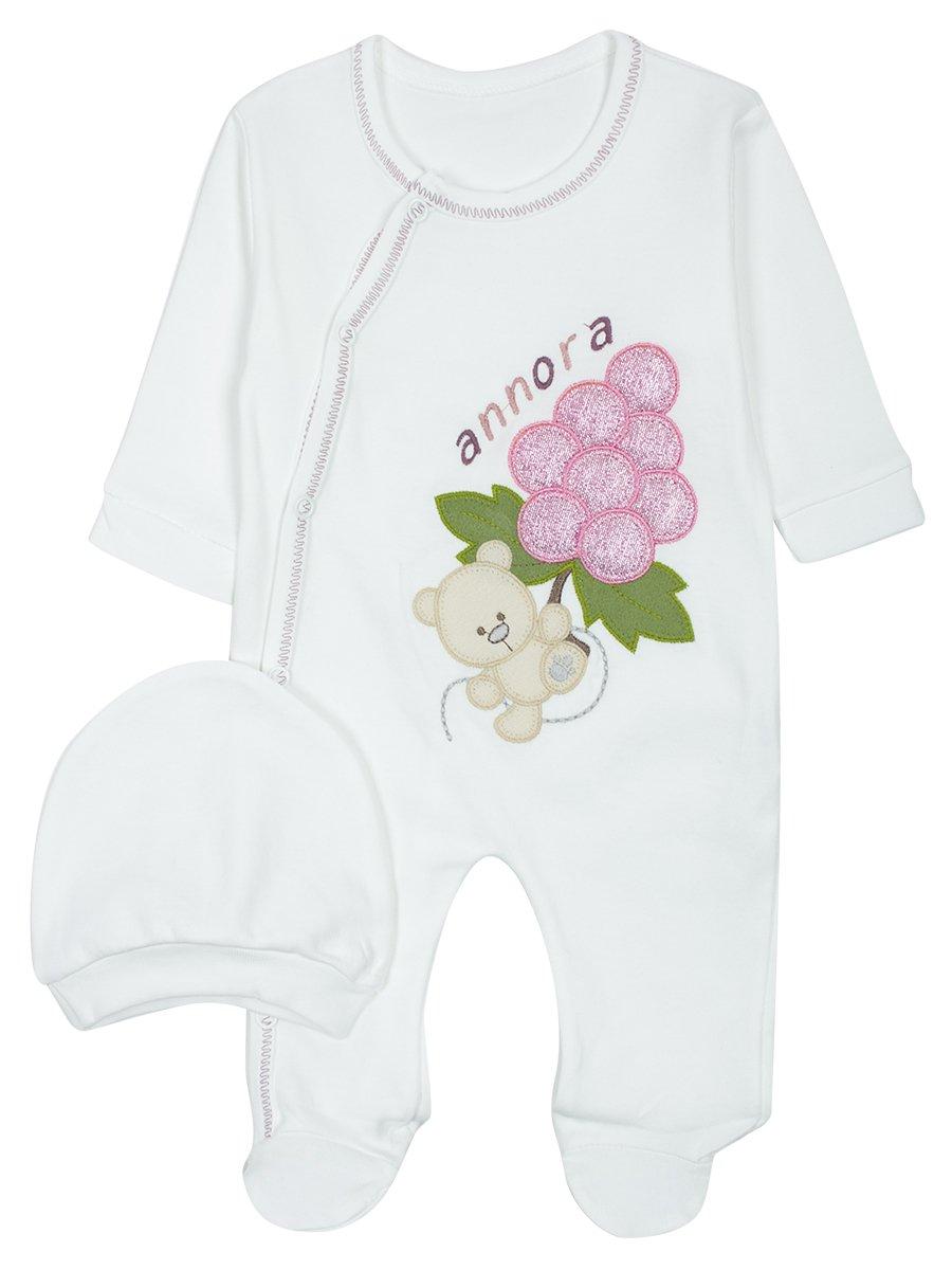 Комбинезон детский, цвет: светло-розовый