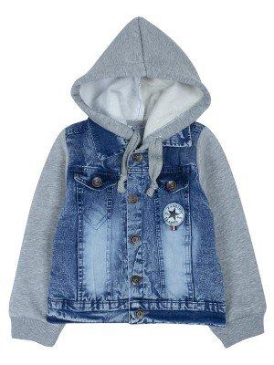 Куртка джинсовая на махровой подкладке для мальчика
