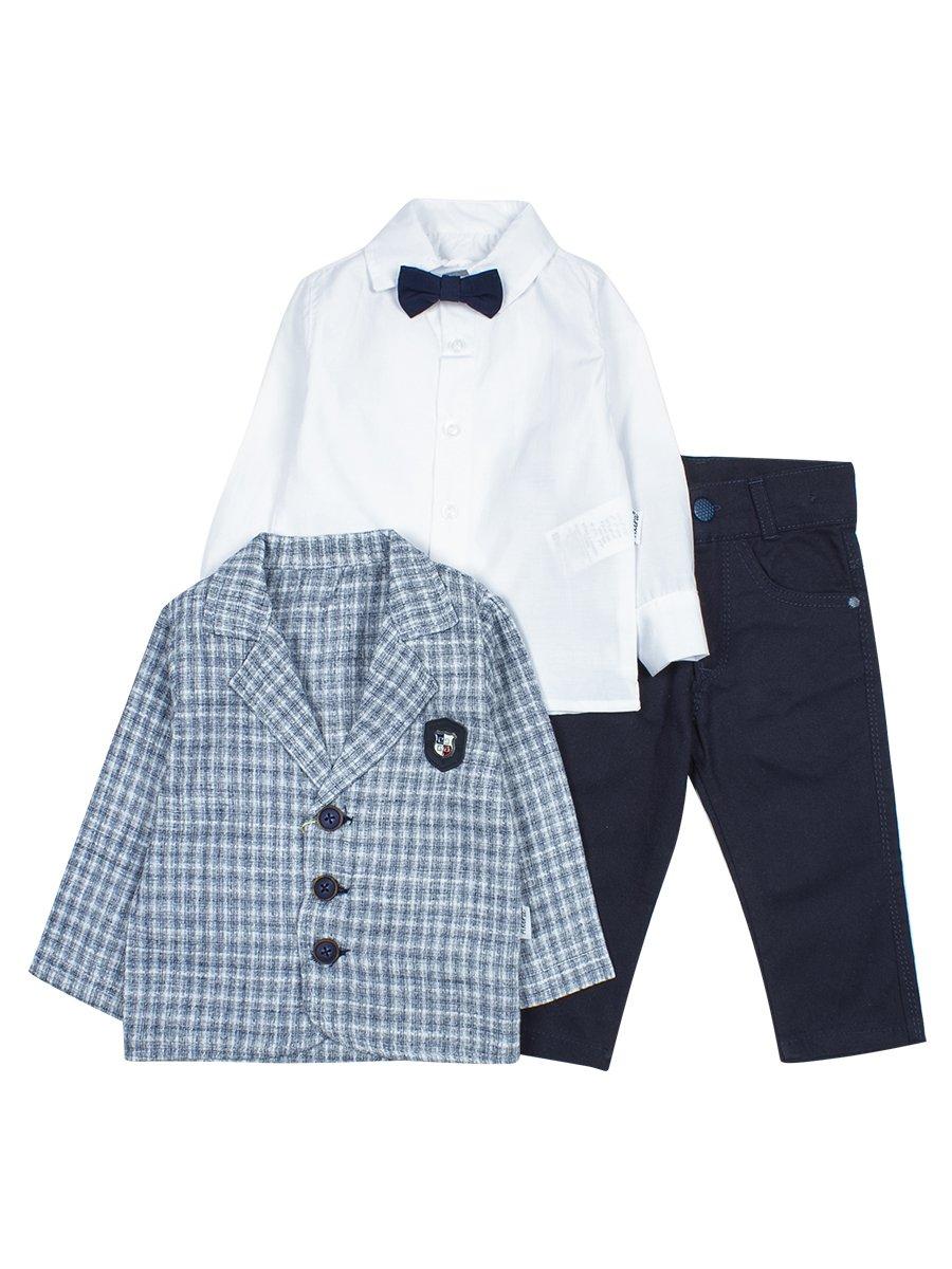 Комплект для мальчика, цвет: серый
