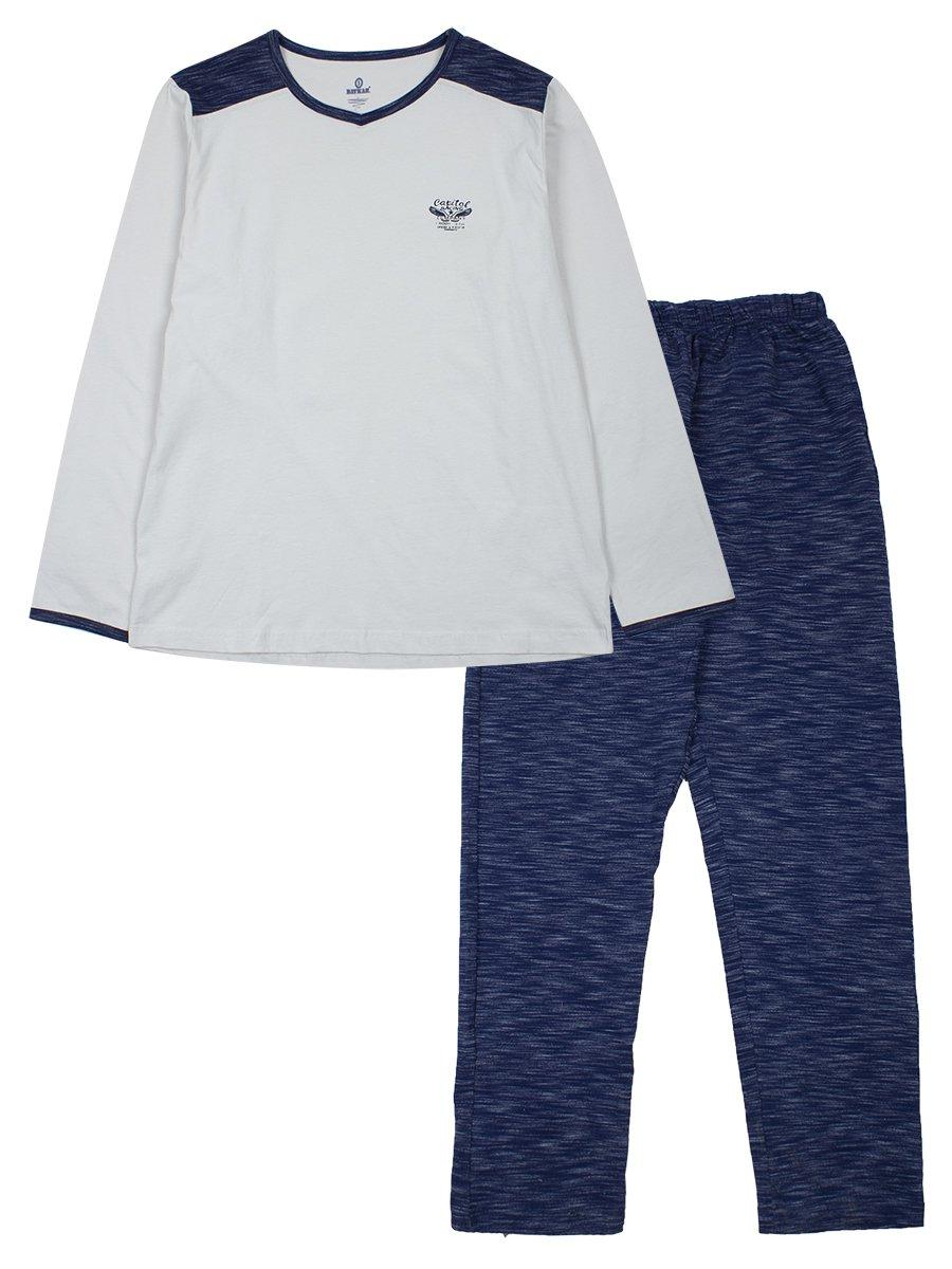 Пижама мужская, цвет: бежевый