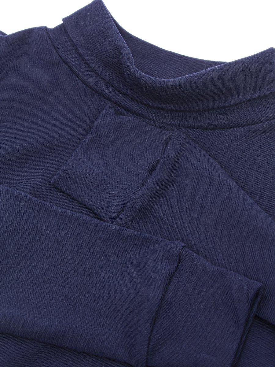 Водолазка для мальчика, цвет: темно-синий