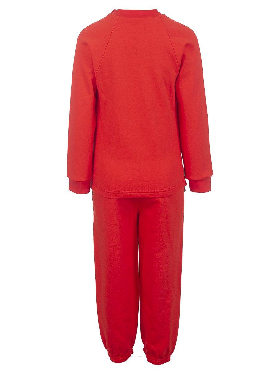 Комплект для мальчика: свитшот и штанишки, цвет: коралловый