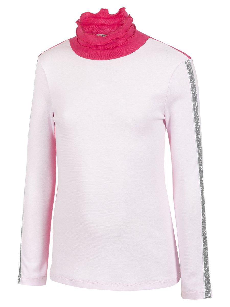 Водолазка для девочки, цвет: розовый
