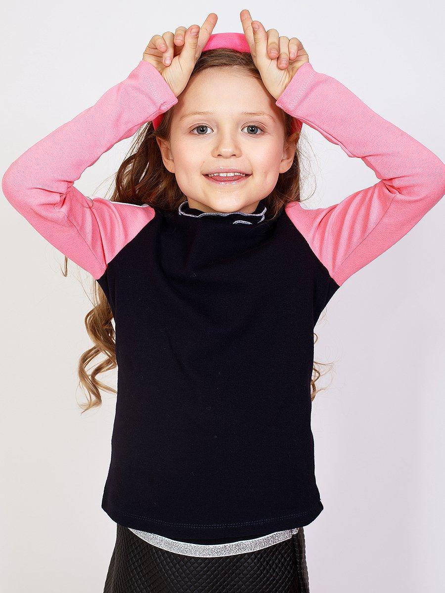 Водолазка для девочки, цвет: баклажан