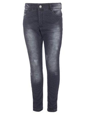 Брюки джинсовые для мальчика на махровой подкладке