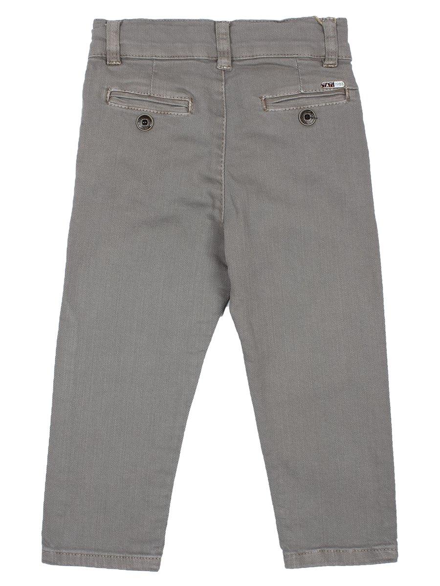 Брюки джинсовые для мальчика, цвет: серый