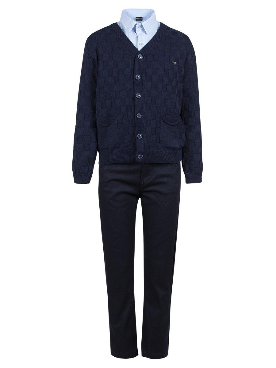 Комплект для мальчика, цвет: темно-синий