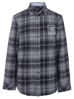 Рубашка фланелевая для мальчика