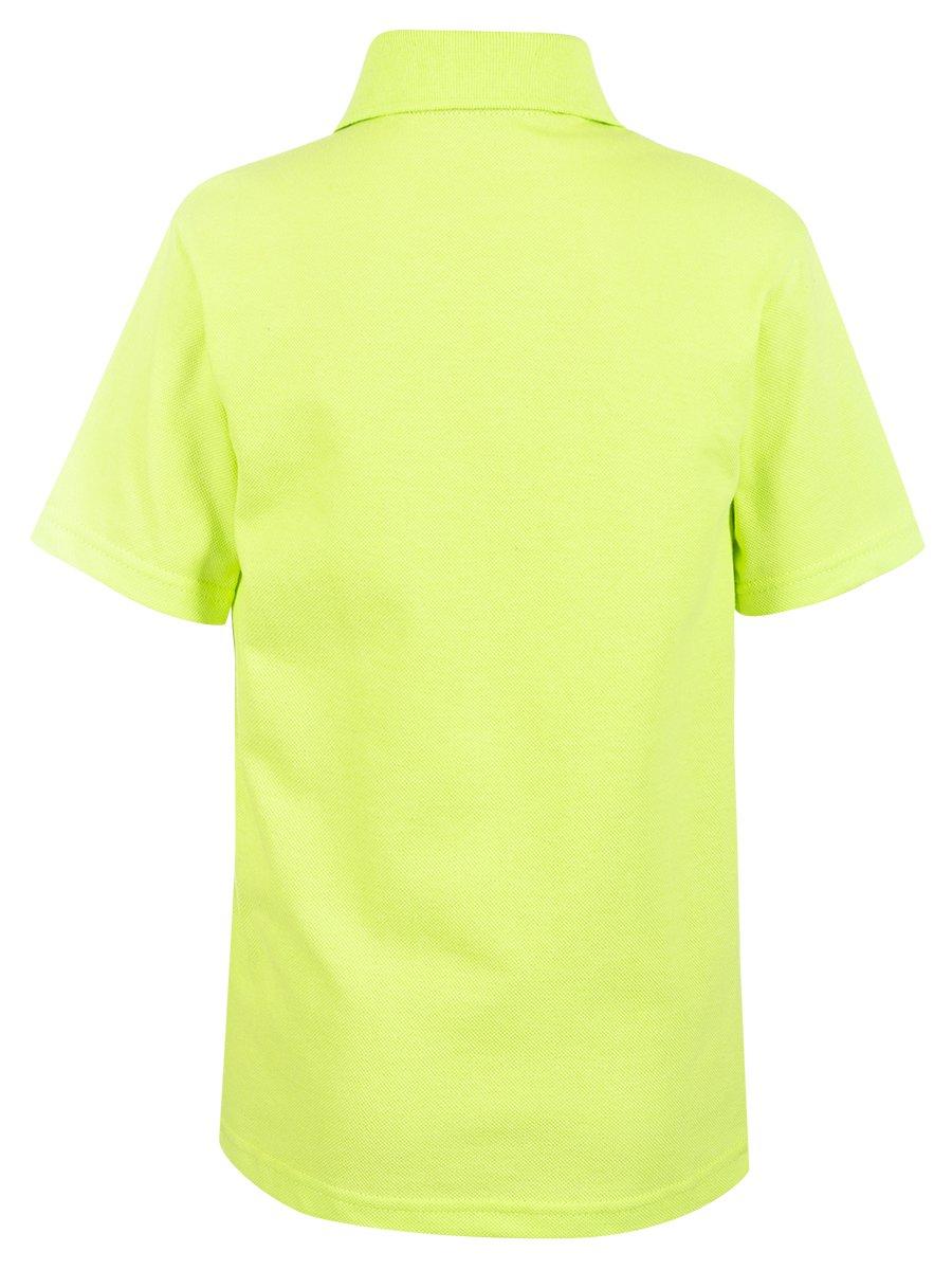 Поло для мальчика, цвет: салатовый