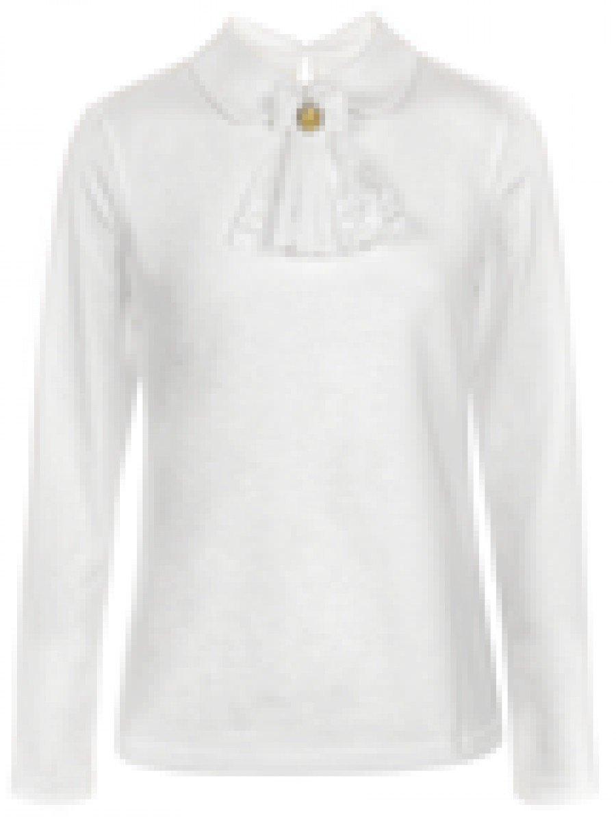 Блузка для девочки, цвет: бежевый