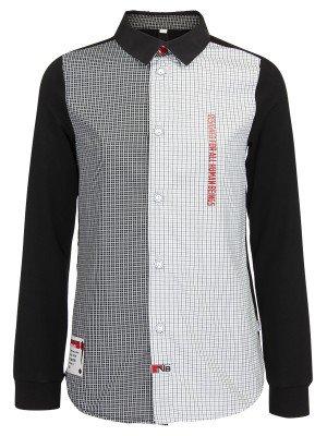 Сорочка для мальчика приталенного силуэта из сорочечной ткани