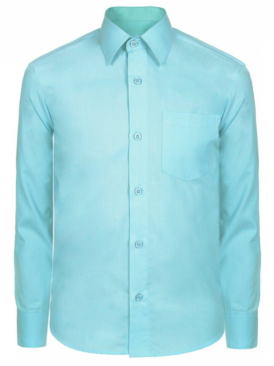 Сорочка для мальчика, цвет: бирюзовый