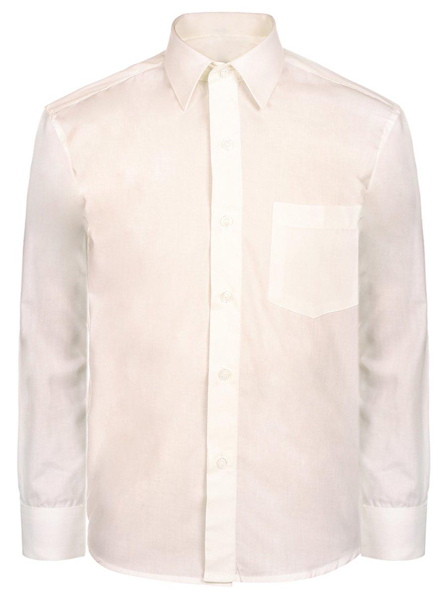 Сорочка для мальчика, цвет: молочный