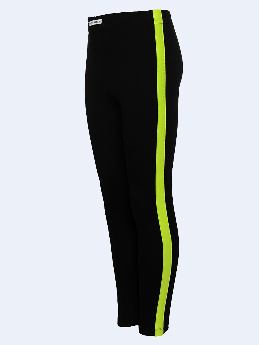 Костюм спортивный: свитшот оверсайз и леггинсы с лампасами, цвет: салатовый