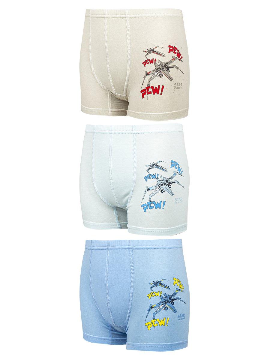 Трусы-шорты для мальчика, цвет: мультиколор