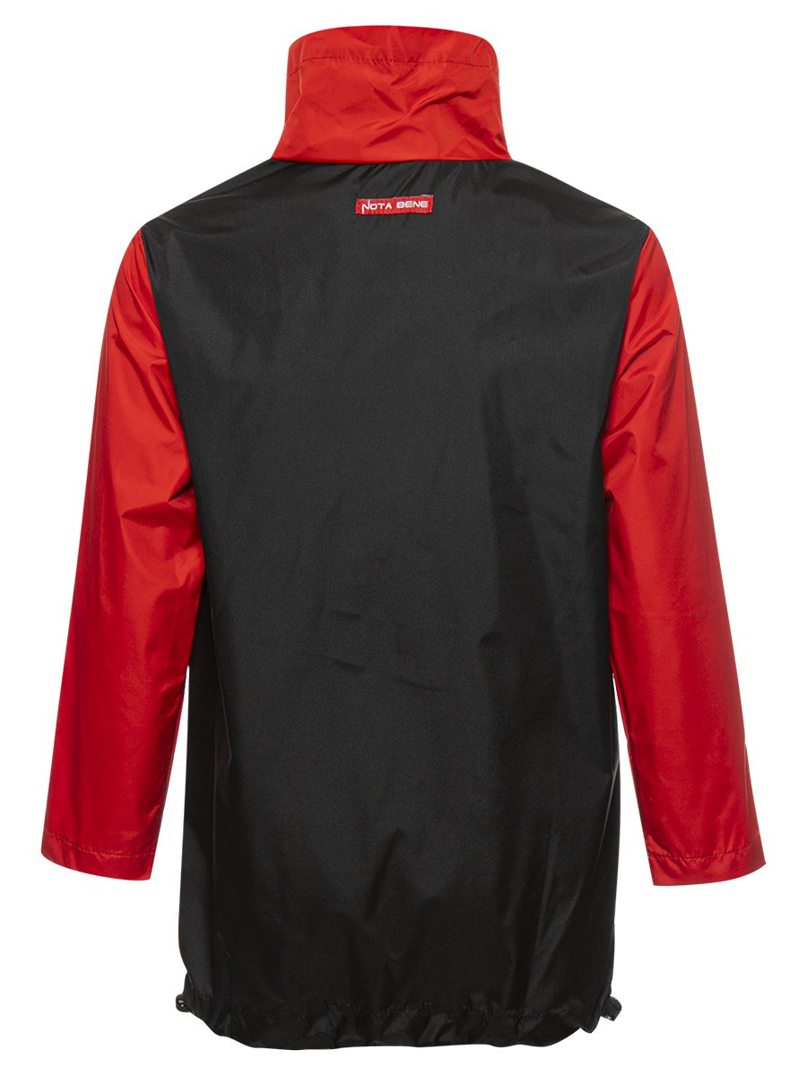 Анорак из плащевой ткани, цвет: красный