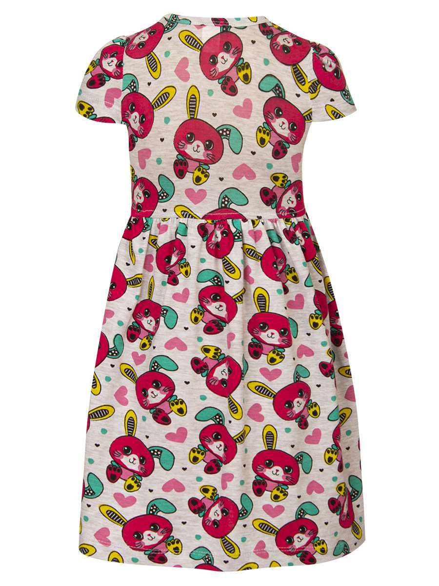 Платье, цвет: серый меланж