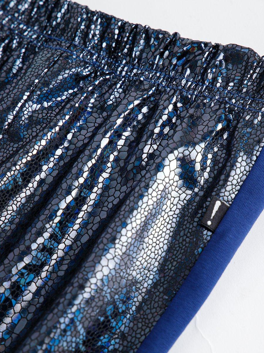 Лосины для девочки, цвет: синий