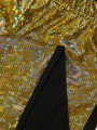 Лосины для девочки, цвет: золотой