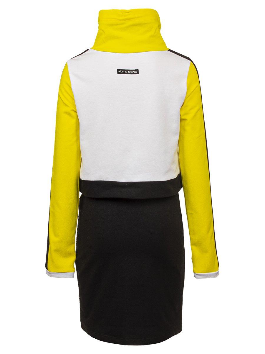Комплект:  свитшот укороченный и юбка прилегающего силуэта