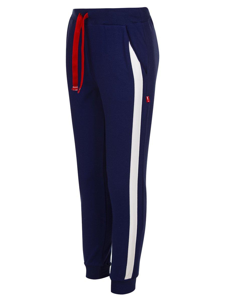 Комплект:свитшот и брюки прямого силуэта со средней посадкой