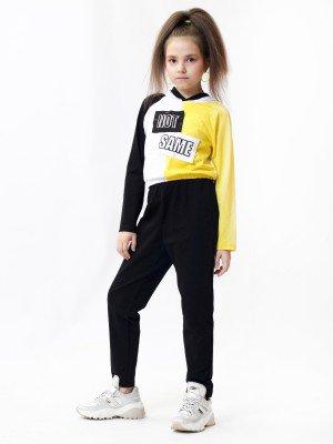 Комплект для девочки: свитшот, брюки