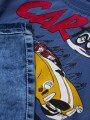 Комплект для мальчика: футболка и джинсовые шорты, цвет: деним