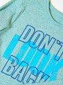 Лонгслив для мальчика из кулирки, цвет: голубой