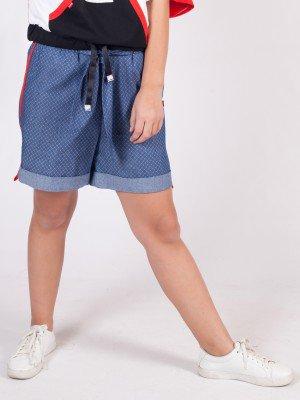 Шорты для девочки из текстиля