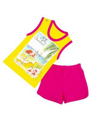 Комплект для девочки: майка и шорты