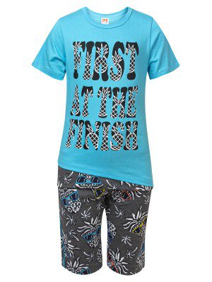 Комплект для девочки:футболка и шорты