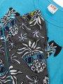 Комплект для девочки:футболка и шорты, цвет: бирюзовый