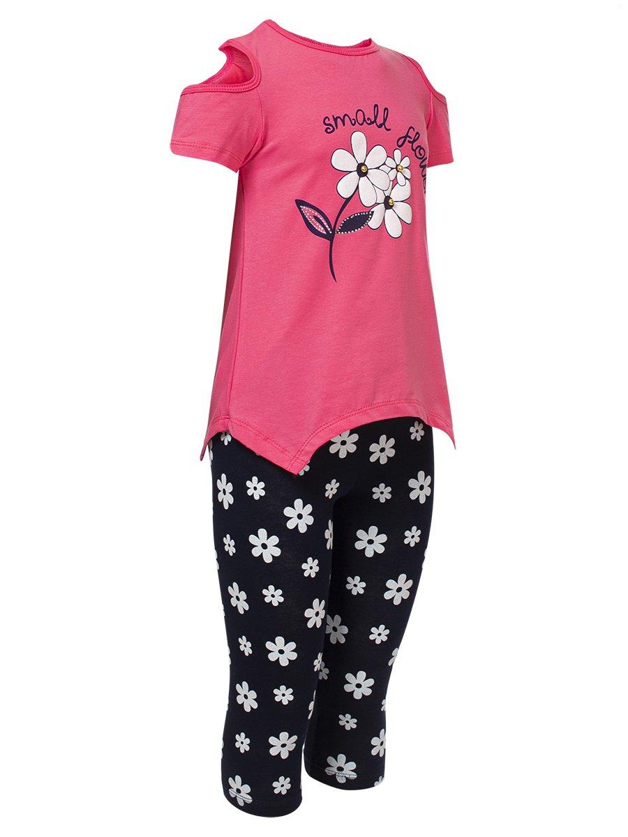 Комплект для девочки:футболка и капри