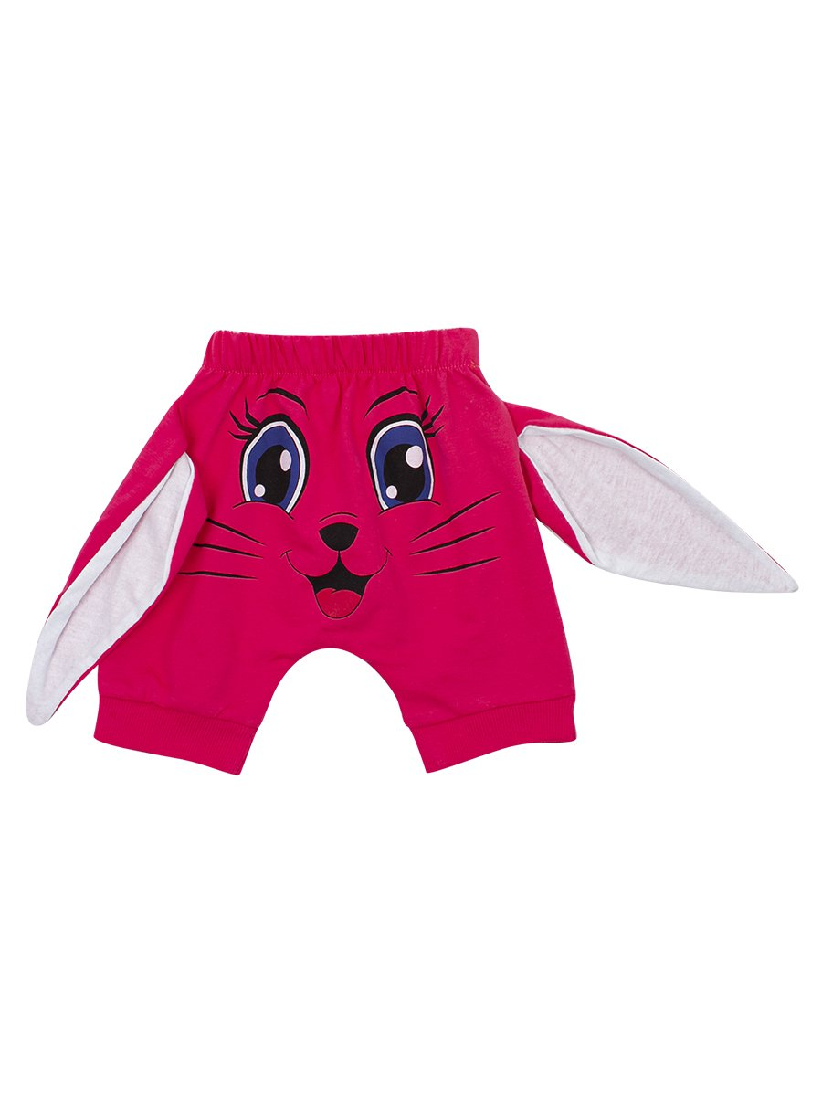 Комплект для девочки: кофточка и шорты, цвет: коралловый