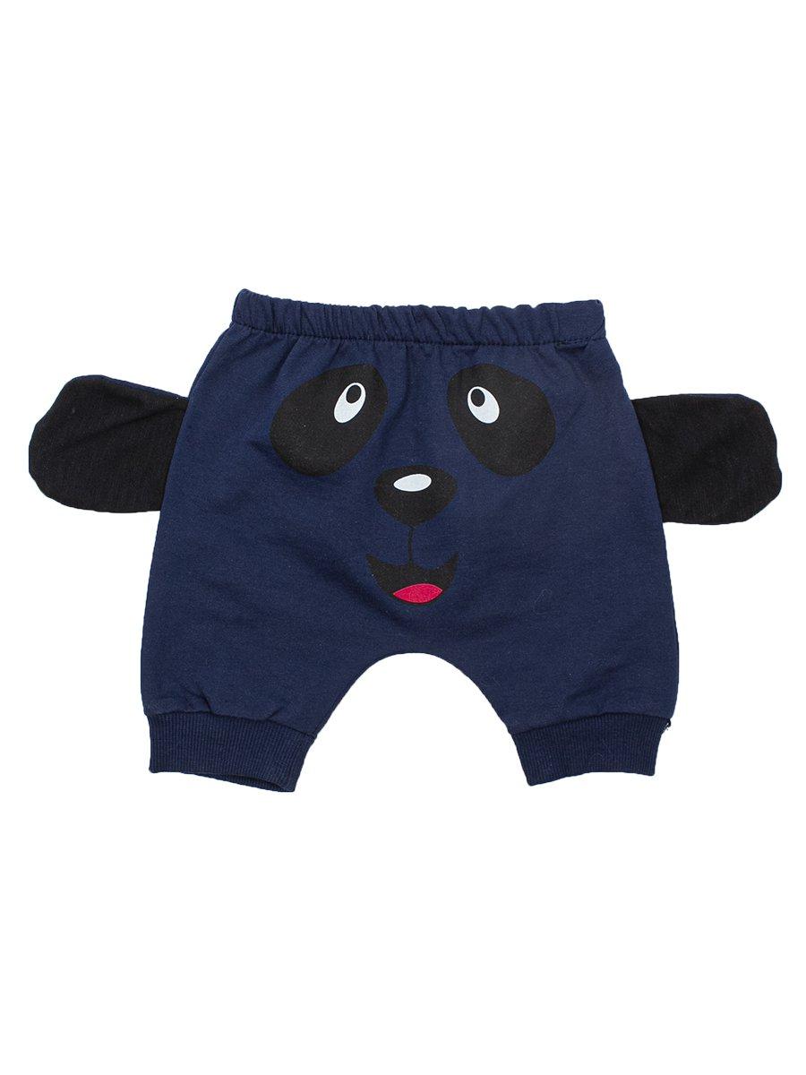 Комплект для мальчика: футболка и шорты, цвет: темно-синий