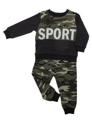 Костюм спортивный для мальчика: кофточка и штанишки