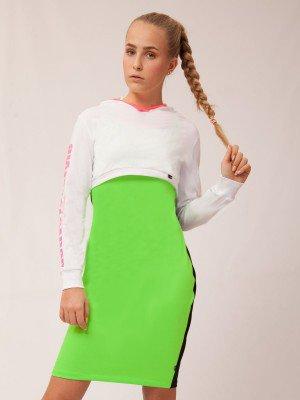 Комплект для девочки: свитшот, платье