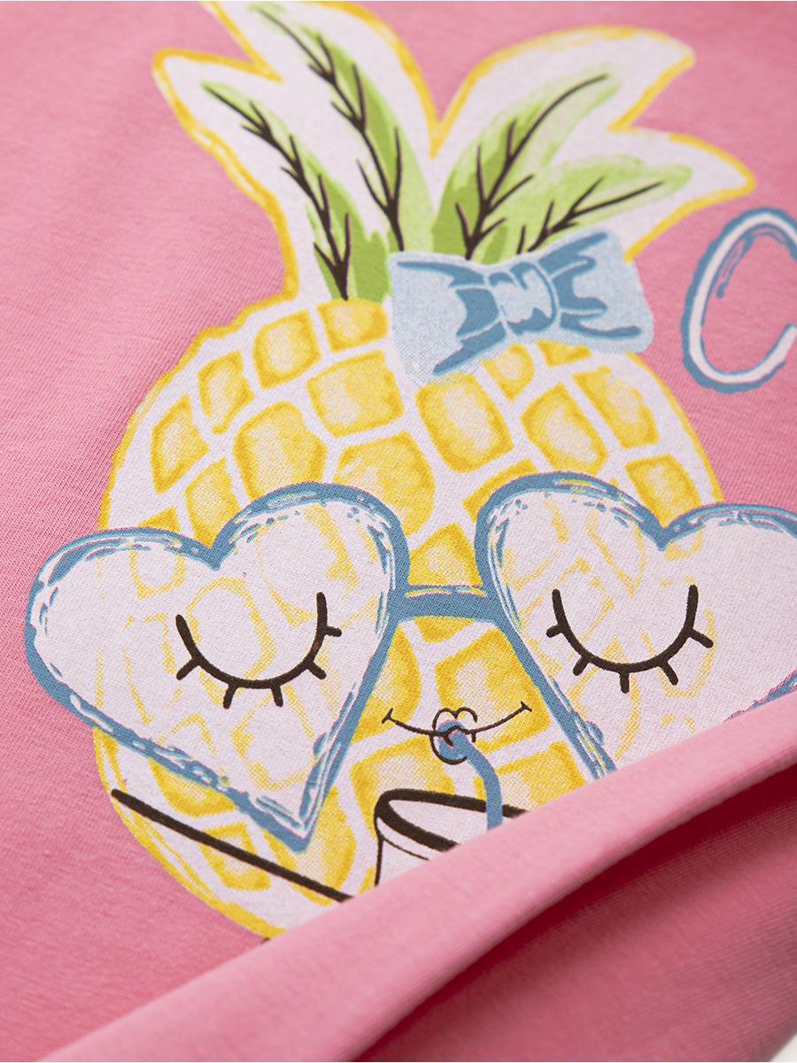 Ночная сорочка для девочки, цвет: розовый