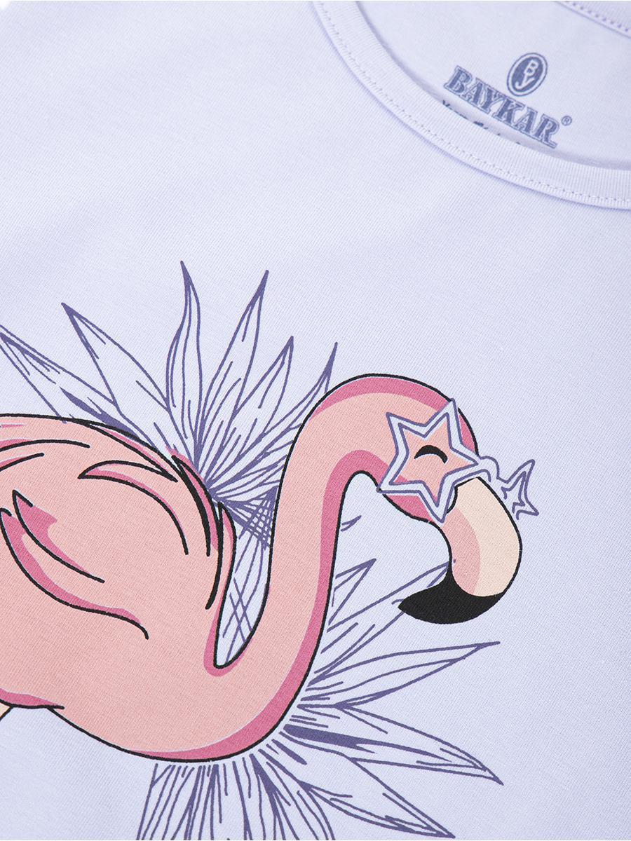 Ночная сорочка для девочки, цвет: сиреневый