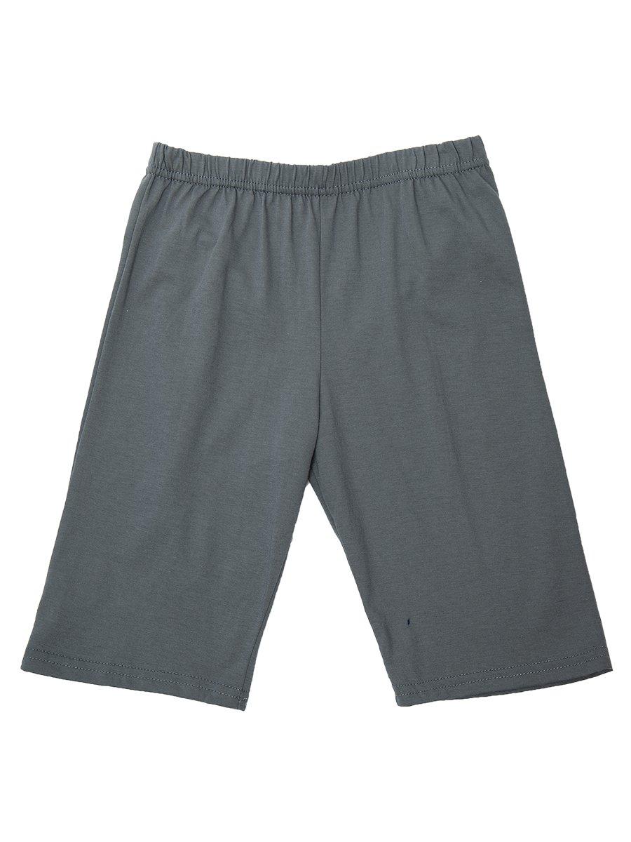 Комплект для мальчика: футболка и шорты, цвет: серый