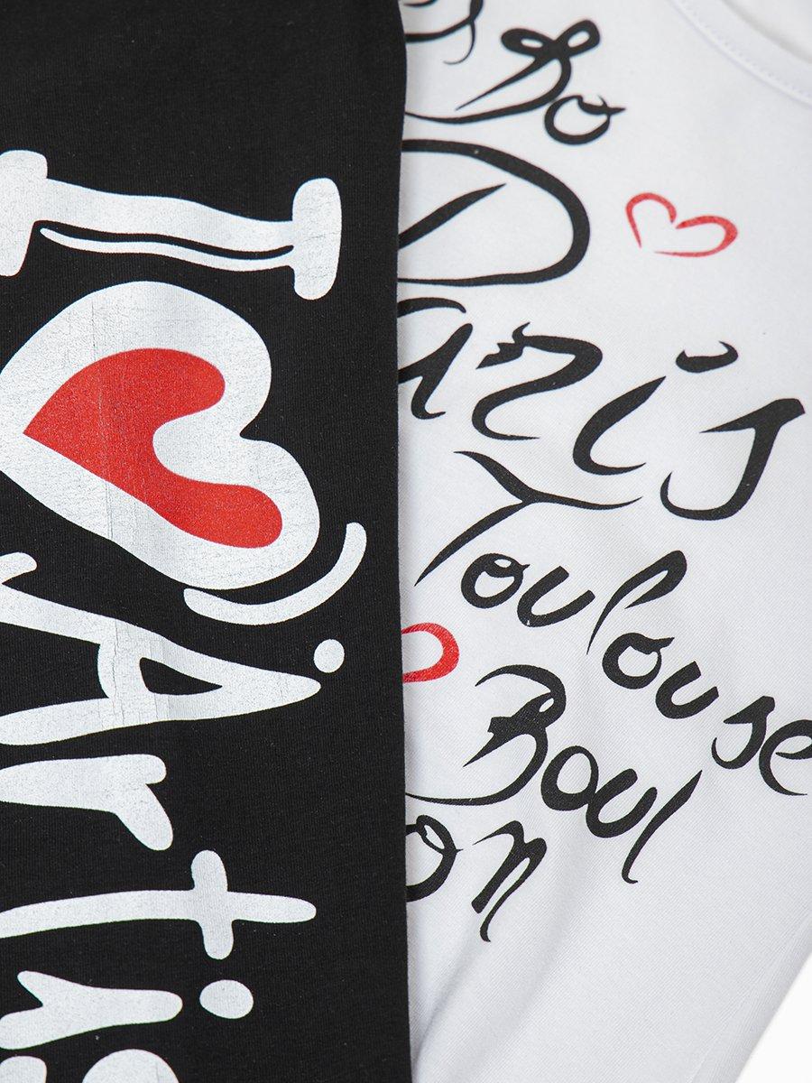 Комплект для девочки: туника и леггинсы, цвет: белый