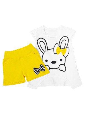 Комплект для девочки: туника и шорты