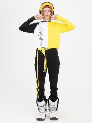 Костюм спортивный:свитшот укороченный и брюки зауженные со средней посадкой