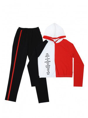 Комплект женский: свитшот, брюки